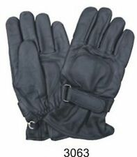 A3063 Riding gloves lightly lined with Velcro strap