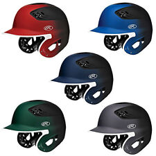 Rawlings CoolFlo Matte 2-Tone XV1 Baseball Softball Batting Helmet 7.25 - 7.75