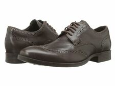 Cole Haan Mens Copley Wing Tip Derby Dark Chestnut Business Casual Dress Shoes