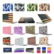 "Rubberized Matte Hard Case Cover Skin For Macbook Air Pro Retina 11 13"" 15"" Inch"