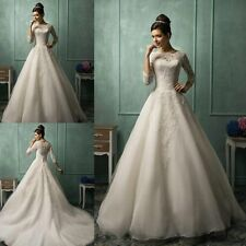 New Wedding Dress 2015 vestidos de noiva Custom Size 2-4-6-8-10-12-14-16-18-20
