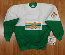 Vintage Deadstock Miami Hurricanes College Concepts Long Sleeve Thin Shirt XL