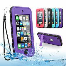 Waterproof Shockproof Dirt Snow proof For Apple iPod Touch 5 5th Gen Case Cover