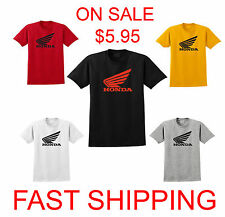 HONDA t-shirt motorcycle cbr wing crf 1000 600 Cool t shirt S-3XL Fast Shipping