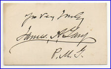 Nine (9) VINTAGE 19th Century Notables: Governors, Adventurers, Civil War, Texas