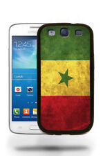 Senegal National Vintage Flag Case Cover for Samsung Galaxy and Note