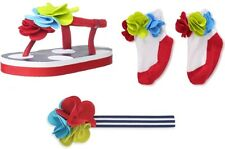 Mud Pie's Boathouse Baby Flower Accessories for the Tunic & Crop Leggings Set
