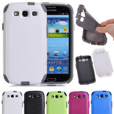 New Hybrid Rugged Sturdy High Impact Two Layer Combo Case For Various Cell Phone