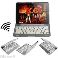 Ultra-slim Wireless Bluetooth V3.0 Keyboard Case Cover with Stand for iPad Mini