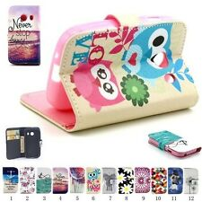 WALLET Leather Flip Case Cover Pouch For Samsung Galaxy Ace Style SM-G310HN G310