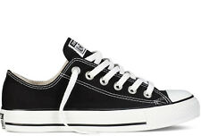 CONVERSE ALL STAR CHUCK TAYLOR OX M9166 BLACK CORE CLASSIC CANVAS MEN