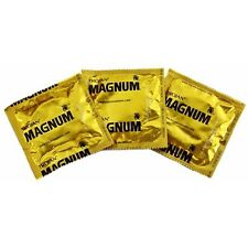 TROJAN - MAGNUM LARGE WATER BASED LATEX LUBRICATED CONDOMS PACK OF 1-100, NEW