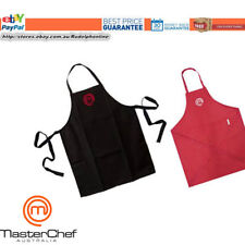 Brand New 100% Genuine MasterChef Cook's Apron Master Chef Cook Kitchen Black Re