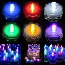 12PCS Multi-Color LED Submersible Waterproof Wedding Decoration Party Tea Light