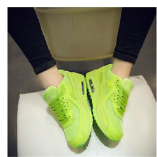Fashion Women Air Max Lace Up Running Lace up Sport Sneakers Trainer Shoe Size