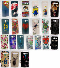 For Lenovo A916 Rose Flower Superman Minions Cartoon Animal Wolf Hard Case Cover
