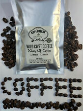 Kopi Luwak Authentic Wild Civet Coffee Roasted Beans Fresh Halal