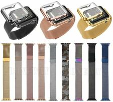 Magnetic Milanese Loop Watch band Strap For All Apple Watch Stainless steel