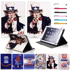 Universal Independence Day Leather Case Cover For 7~7.9 Inch Android Tablet PC