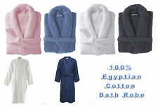 Bath Robe 100% Egyptian Cotton Terry Towelling Robe Gown Luxury and Super Soft