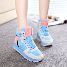 Korean Womens Fashion Sneakers Retro Air Max Lace Up Runing Trainer Shoes Size