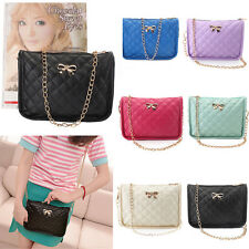 Women Bowknot Shoulder Bag Messenger Crossbody Tote Handbag Satchel Purse Wallet