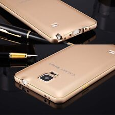 I3C Ultra-thin Aluminum Metal Bumper PC Back Case Cover For Samsung Galaxy