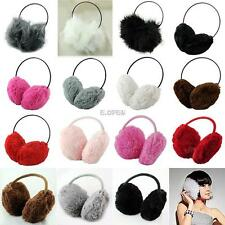 Winter Puffy Fluffy Cute Women Earmuffs Earflap Earcap Earlap Ear Muffs Cover