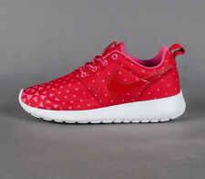 Youth / Womens Nike Roshe Run Sneakers New, Red / Pink Valentines Day 599729-602