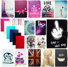 Cute Premium Universal Folio Leather Case Cover For LG G Pad F 8.0 V496 T Mobile
