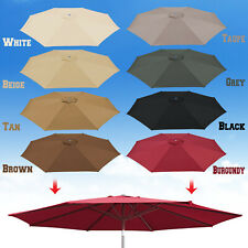 10ft Patio Umbrella Cover Canopy 8 Rib Replacement Top Outdoor