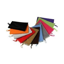 """Velvet Sleeve Pouch Slip Case Cover Bag For Any Up To 5.5""""inch Mobile Phone"""