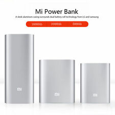 Universal Original Xiaomi USB Power Bank Charger MI 10400/16000mAh For CellPhone
