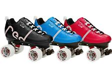 Labeda Voodoo U3 Quad Speed Roller Skates Choose Red, Blue or Black!