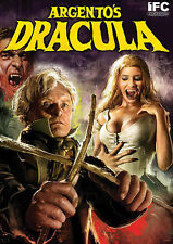 NEW Argento's Dracula (DVD, 2014) Rutger Hauer, Asia Argento sexy horror!
