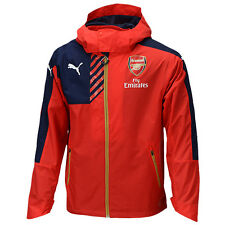 PUMA Arsenal Rain Wind Jacket Zip Coat Training Jacket 74762801