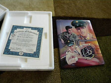 Bradford Exchange ELVIS PRESLEY For the Love of hisCountry-w/certificate