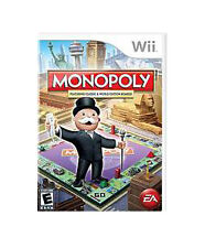 Monopoly (Nintendo Wii, 2008) COMPLETE - GREAT CONDITION
