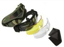 Airsoft X800 Tactical bulletproof antifog Sun Glasses SWAT Goggles Protection
