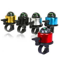 Bicycle Bike Cycling Handlebar Alarm Metal Ring Bell Horn with Compass