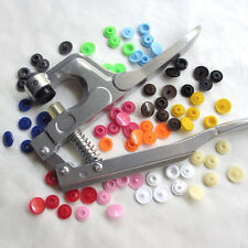 Size 20 T5 KAM Resin Snap Buttons For Cloth Bib Diaper Pliers 13 Colors