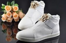 Fashion Mens England Style High-top High Korean Casual Sneakers Shoes Ankle boot
