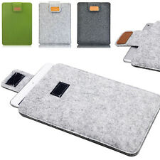 "Envelope Woolen Sleeve Pouch Hand Bag Case For iPad Air 2 3 4 / 9""-10.1"" Tablet"