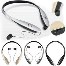 New LG Tone Infinim HBS-900 Bluetooth Neckband Headset Earbuds For All CellPhone