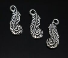 30/40/50 PCS tibet silver lovely charm jewelry pendant 22x8mm