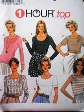 Misses Pull Over Knit Tops Simplicity 9510 Sizes 6 - 24