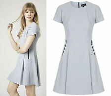 TOPSHOP Zip Detail Flippy Dress RRP £46