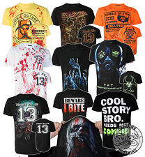 DARKSIDE CLOTHING  ZOMBIE T SHIRTS ZOMBIE KILLER TEE ALTERNATIVE ZOMBIE CLOTHING