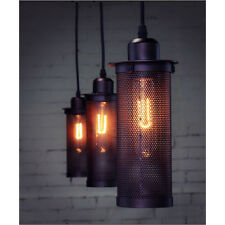 Retro Pendant Lights Edison Style Industrial Droplight Metal Mesh Cafe Bar DIY