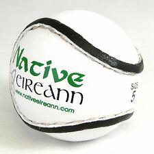 Irish Match Quality Hurling Sliotar Pack of 5 - Gaelic Games - Various Sizes